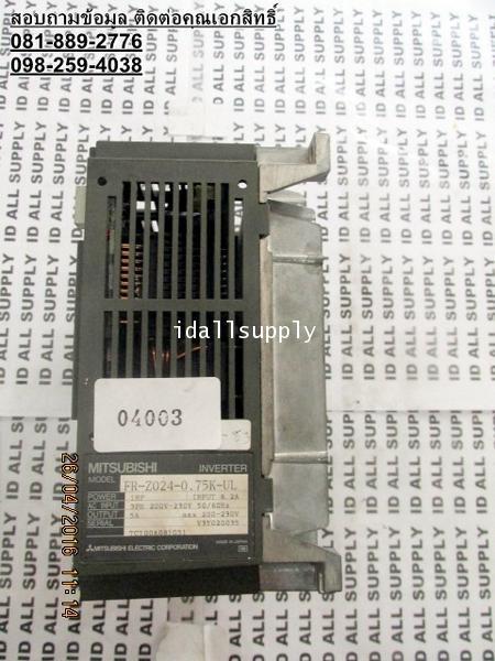 INVERTER MITSUBISHI FR-Z024-0.75K-UL จำหน่าย ขาย ซ่อม