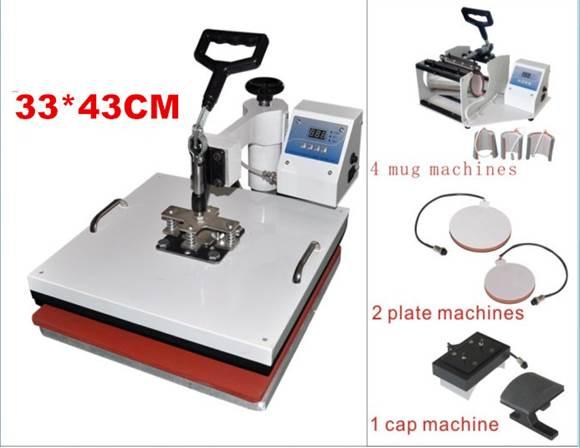 ชุดเครื่องพิมพ์เสื้้อ พิมพ์แก้ว เซรามิค Mug Heat Press Machine 8:1 โทร 0818112040