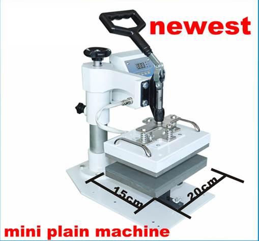 ชุดเครื่องพิมพ์เสื้้้อ วัสดุแผ่น กระทัดรัด 15x20cm Heat Press  Machine โทร 0818112040