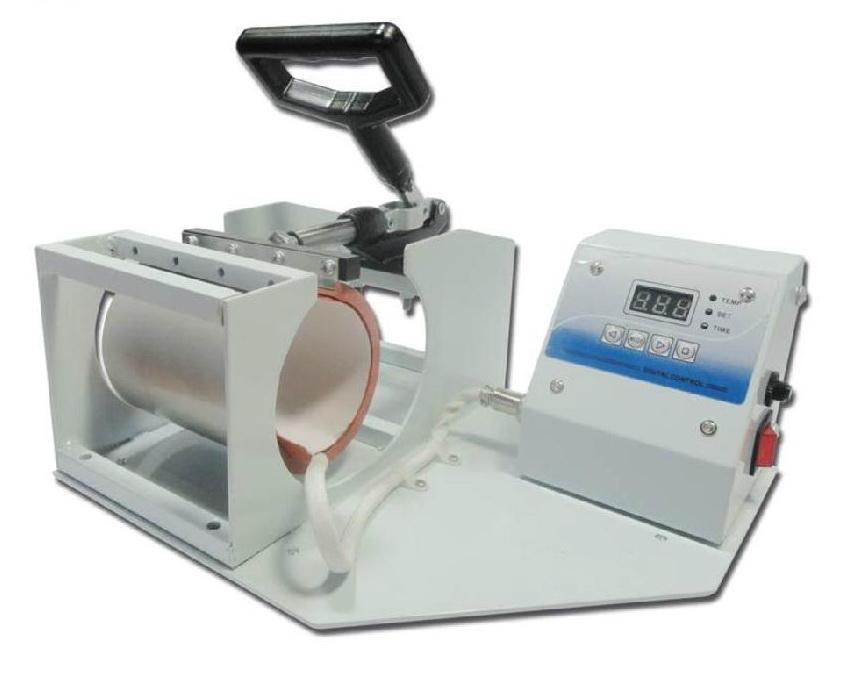 เครื่องพิมพ์แก้ว เซรามิค Mug Heat Press Machine โทร 0818112040