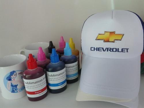หมึกพิมพ์เสื้อ หมวก กระเป๋า sublimation คุณภาพ มีถึง C M Y K LM LC 6 สี   โทร 0818112040