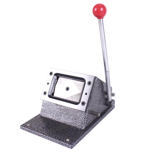 เครื่องทำบัตร เครื่องตัดบัตร พีวีซี PVC Card Cutter size ขนาดมาตรฐาน 5.4x8.6cm รุ่นใหญ่พิเศษ