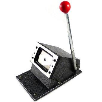 เครื่องทำบัตร เครื่องตัดบัตร พีวีซี PVC Card Cutter size มาตรฐาน 5.4x8.6cm รุ่นจิ๋วแต่แจ๋ว