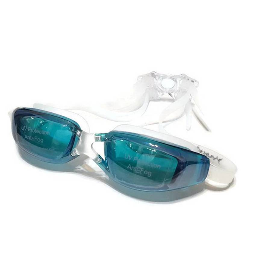 ideecraft แว่นตาว่ายน้ำ swimming glasses YUKE ( สีเขียว )