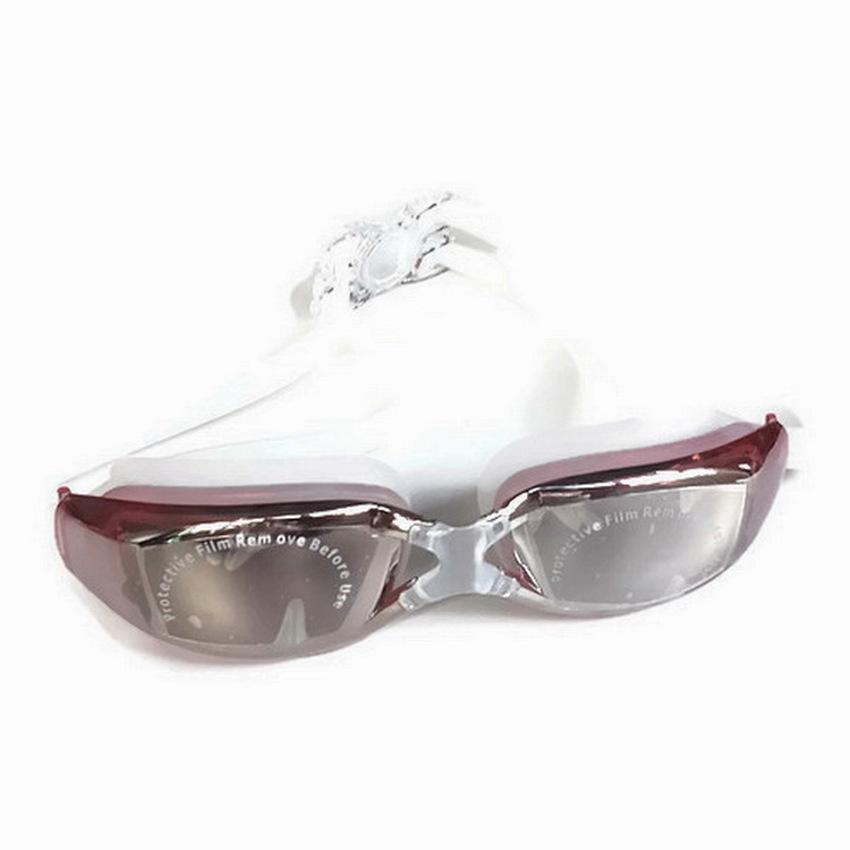 ideecraft แว่นตาว่ายน้ำ swimming glasses YUKE ( สีแดง )