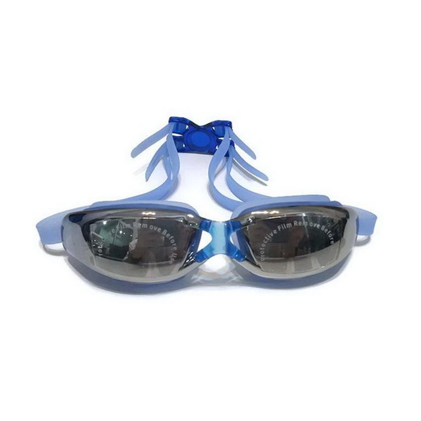 ideecraft แว่นตาว่ายน้ำ swimming glasses YUKE ( สีน้ำเงิน )