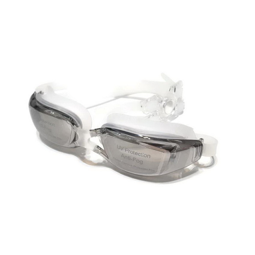 ideecraft แว่นตาว่ายน้ำ swimming glasses YUKE ( สีน้ำชา )