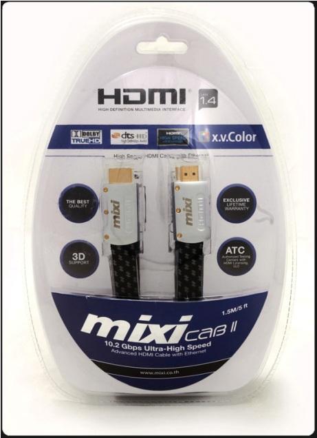 สาย HDMI v1.4 Mixi-CAB II(ความยาว 1.50 เมตร)
