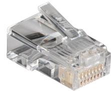 หัวแลน (LAN) ตัวผู้ RJ45 LINK US-1001 CAT 5E RJ45 Modular JACK