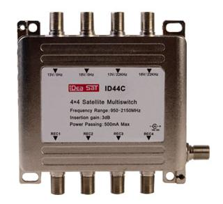 MULTI SWITH 4x4 IDEASAT ID-44C