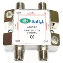 Splitter แยกสัญญาณดาวเทียม DBY 4203AP