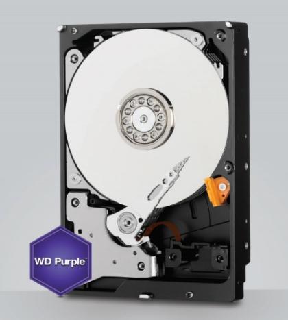 Harddisk 4 TB SATA-III WD Purple 64MB for CCTV