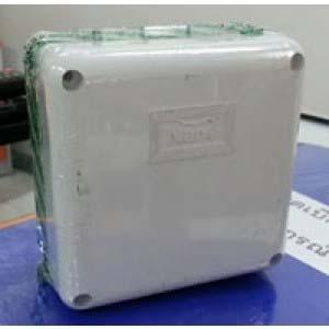 กล่องกันน้ำ 4x4 NANO สีขาว