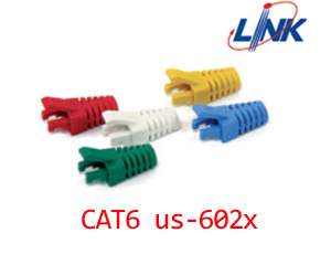 แพ็คปลั๊กบูทส์ LINK CAT 6 Locking Plug BOOT บรรจุ 10 ตัว/PKg