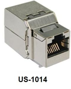 LINK SHIELD CAT 6 US-1014  RJ 45 Modular JACK, full shield (ตัวเมียรุ่นชิลด์)