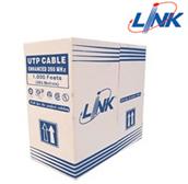 สาย Lan LINK CAT5E รุ่น US-9045 Outdoor double jacket(ยกกล่องความยาว 305 เมตร)