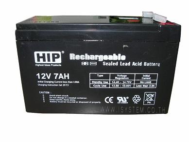 HIP Battery 12V 7AH