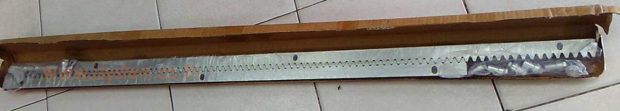 รางเฟืองสะพานเหล็ก ขนาด 3หุน(10mm)(ขายยกกล่อง 1 กล่อง 4 เส้น ยาวเส้นละ 1 เมตร)