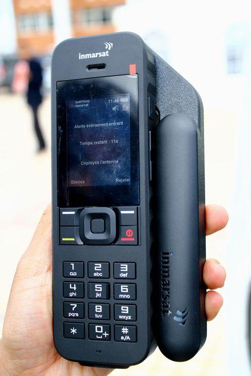 โทรศัพท์ดาวเทียม iSatPhone2 โทรได้ทั่วโลกผ่านระบบดาวเทียม 3