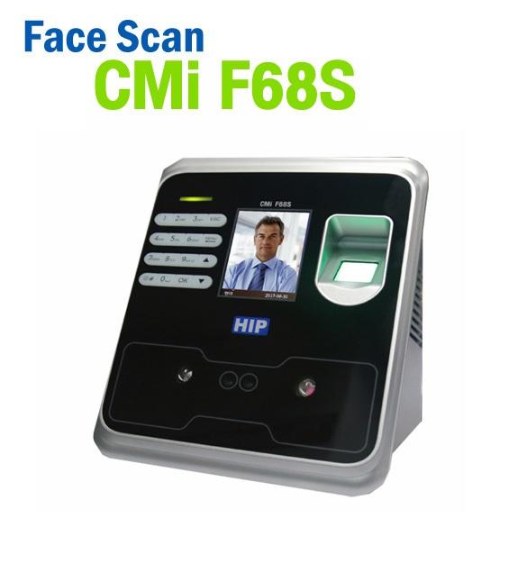 เครื่องสแกนใบหน้า Face Scan HIP CMi F68S 1000 ใบหน้า : HIP Premium Time (Access control)