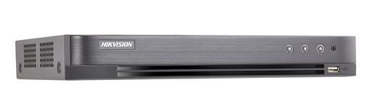เครื่องบันทึก DVR Hikvision รุ่น DS-7208HUHI-K2/P รับกล้อง 5MP แสดงผล 4K ใส่ HDD ได้ 2 ลูก /POC