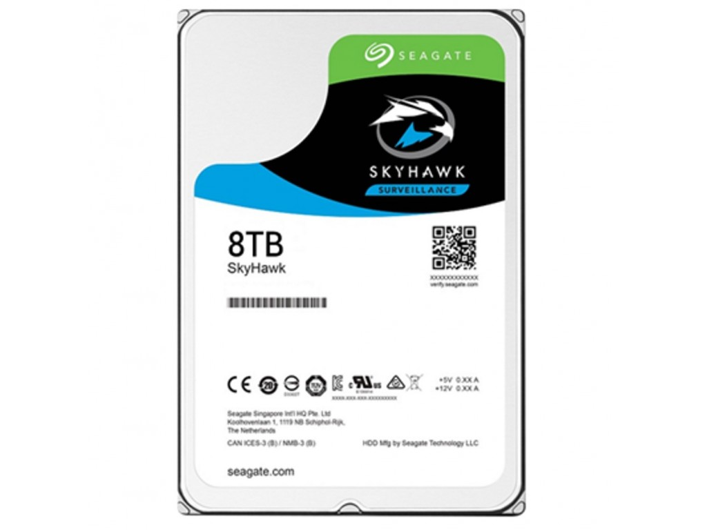 Harddisk สำหรับกล้องวงจรปิด Seagate SkyHawk 8TB