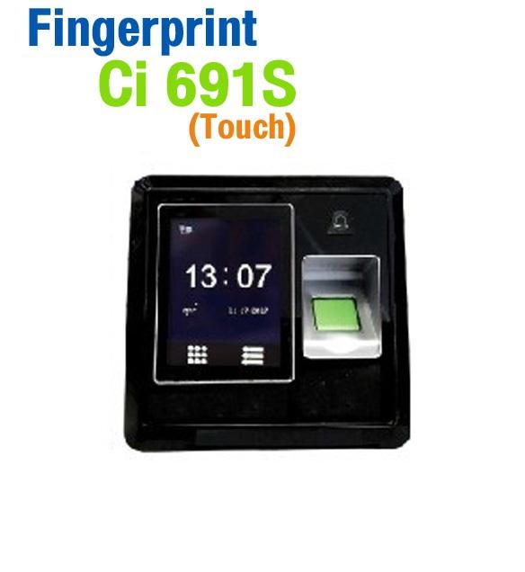 เครื่องสแกนลายนิ้วมือ HIP Fingerprint Ci691S Touch