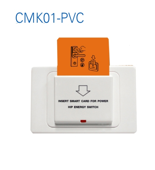 HIP CMK01-PVC ตัวรับการ์ด ระบบควบคุมไฟในห้องพัก