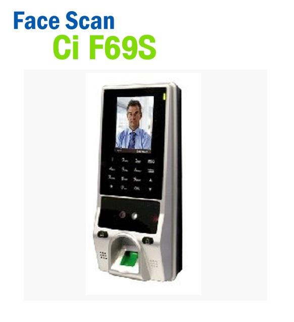 เครื่องสแกนใบหน้า Face Scan HIP Ci F69S 1000 ใบหน้า ++ต่อกริ่งโรงงานได้++