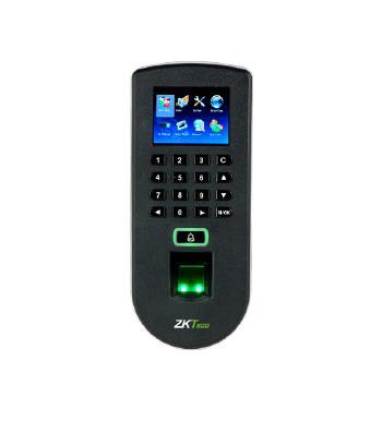 เครื่องควบคุมประตู ,ลงเวลา ZKTeco ZK-F19 รองรับ 3,000 ลายนิ้วมือ