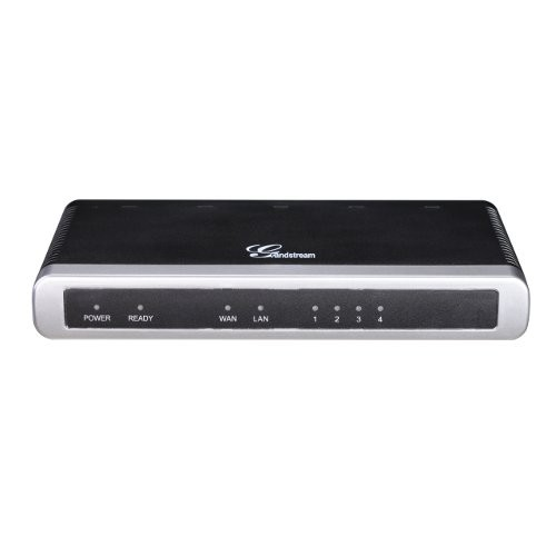 Grandstream GXW-4104 ตัวแปลงสัญญาณโทรศัพท์คู่สายนอกแบบ Analog เป็น Digital