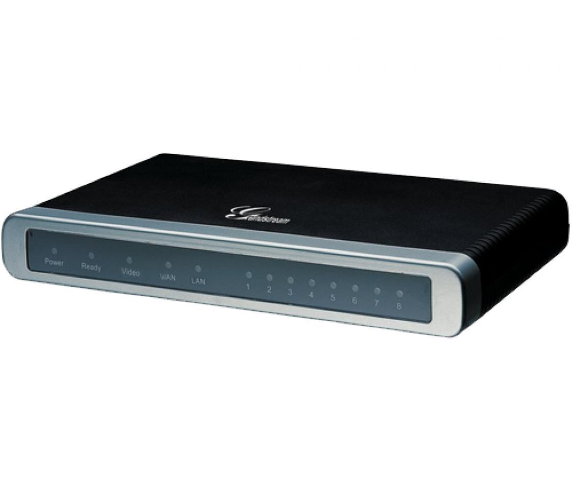 Grandstream GXW-4108 ตัวแปลงสัญญาณโทรศัพท์คู่สายนอกแบบ Analog เป็น Digital