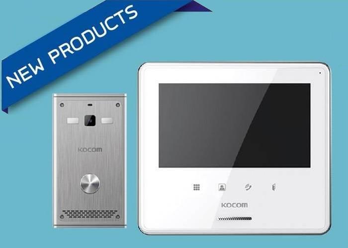 Kocom VDO Door Phone รุ่น KCV-S701IP ระบบ IOT แจ้งเตือนผ่านมือถือ+ปลดล๊อค