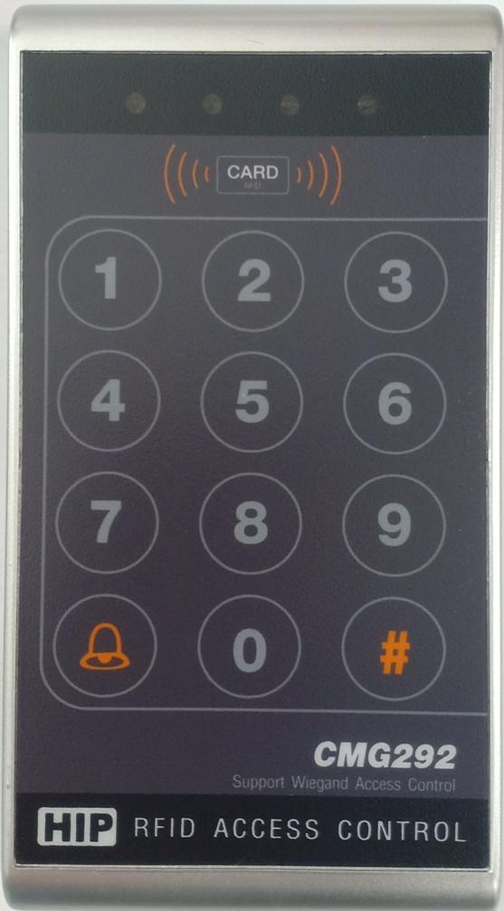 HIP CMG-292 ระบบควบคุมเปิดปิดประตู แบบบัตร คีย์การ์ด