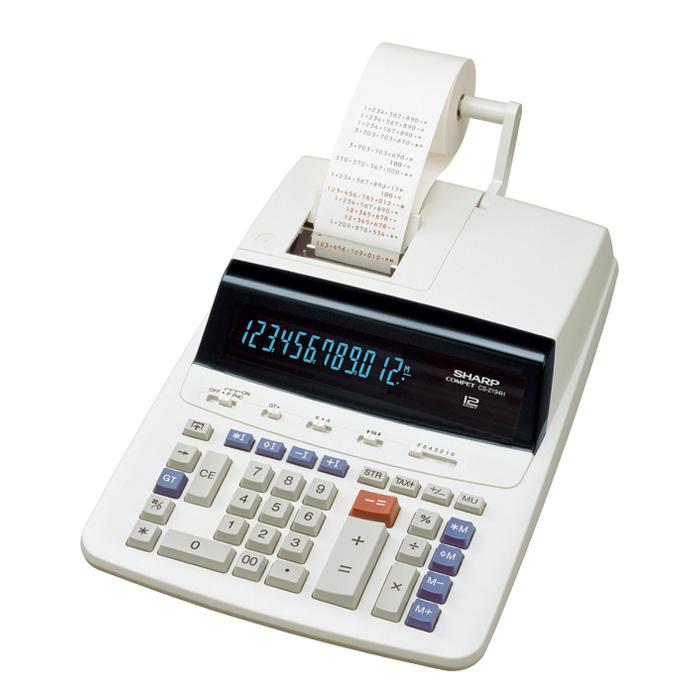 เครื่องคำนวณพิมพ์กระดาษ SHARP CS-2194H