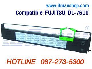 ตลับผ้าหมึกเครื่องพิมพ์ FUJITSU DL 7600