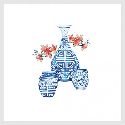 ภาพพิมพ์บนกระดาษ Fine China No.1