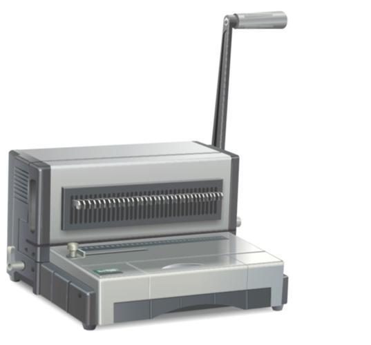 เครื่องเจาะกระดาษมัลติฟังค์ชั่นPROPUNCH M6000แถมเครื่องบีบขดลวดฟรี