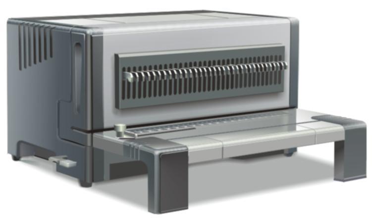 เครื่องเจาะกระดาษไฟฟ้ามัลติฟังชั่น PROPUNCH D600(แถมฟรีเครื่องบีบขดลวด)