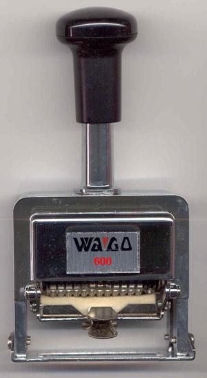 เครื่องตีเบอร์ 6 หลัก WAGO