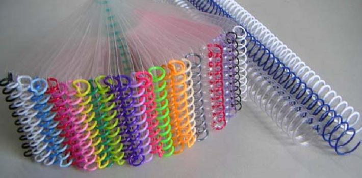 สันเกลียวพลาสติก PVC coilbinding