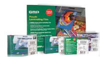 พลาสติกเคลือบบัตร GMP (Laminating Pouch Films)A4*125mic