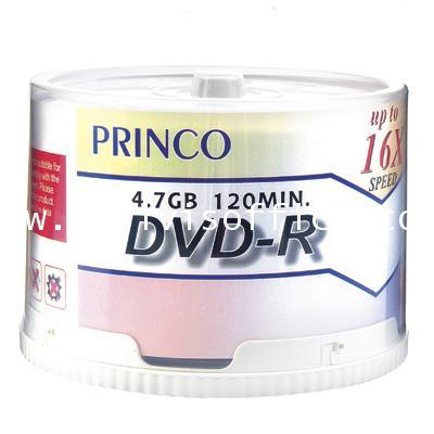 แผ่น DVD-R พริ้นโก้ 4.7GB 16X (แพ็ค 50 แผ่น)