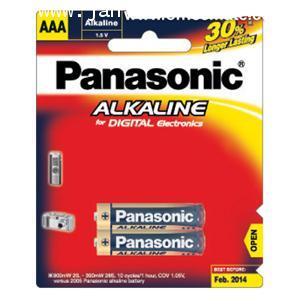 ถ่านอัลคาไลน์ พานาโซนิค LR03T/2B AAA 2 ก้อน