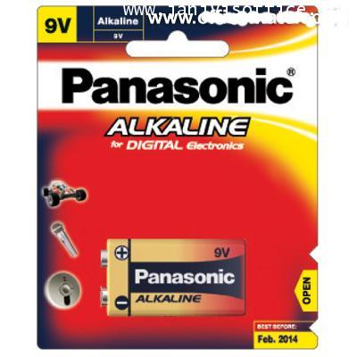 ถ่านอัลคาไลน์ พานาโซนิค 6LR61T/1B 9V 1 ก้อน