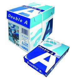 กระดาษถ่ายเอกสาร A4 80G Double A (5รีม/กล่อง)