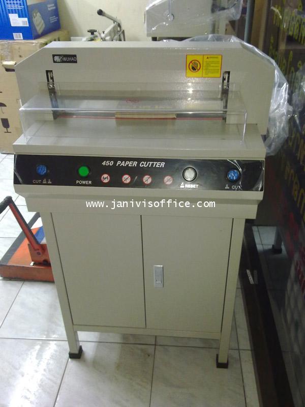 เครื่องตัดกระดาษไฟฟ้า PROPUNCH 450 v+(auto) 2
