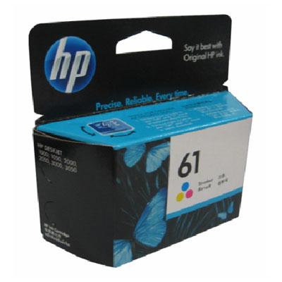 หมึกอิงค์เจ็ท HP 61 Tri-colour รุ่น CH562W