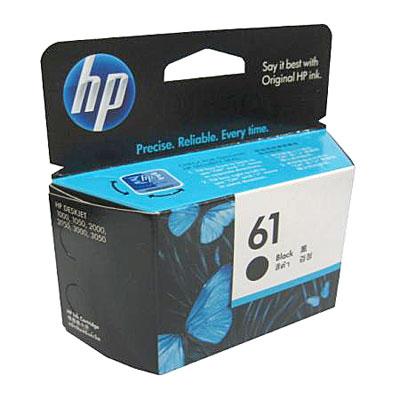 หมึกอิงค์เจ็ท HP 61 Black รุ่น CH561W