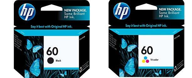 หมึกอิงค์เจ็ท HP 60 Black CC640WA